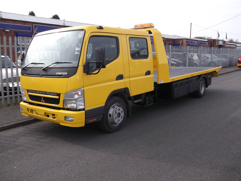 refurbished recovery vehicle