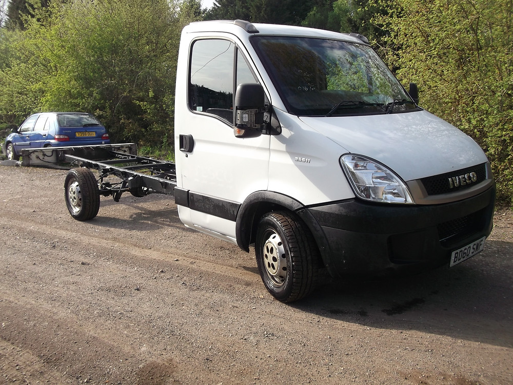 iveco self build recovery truck for sale