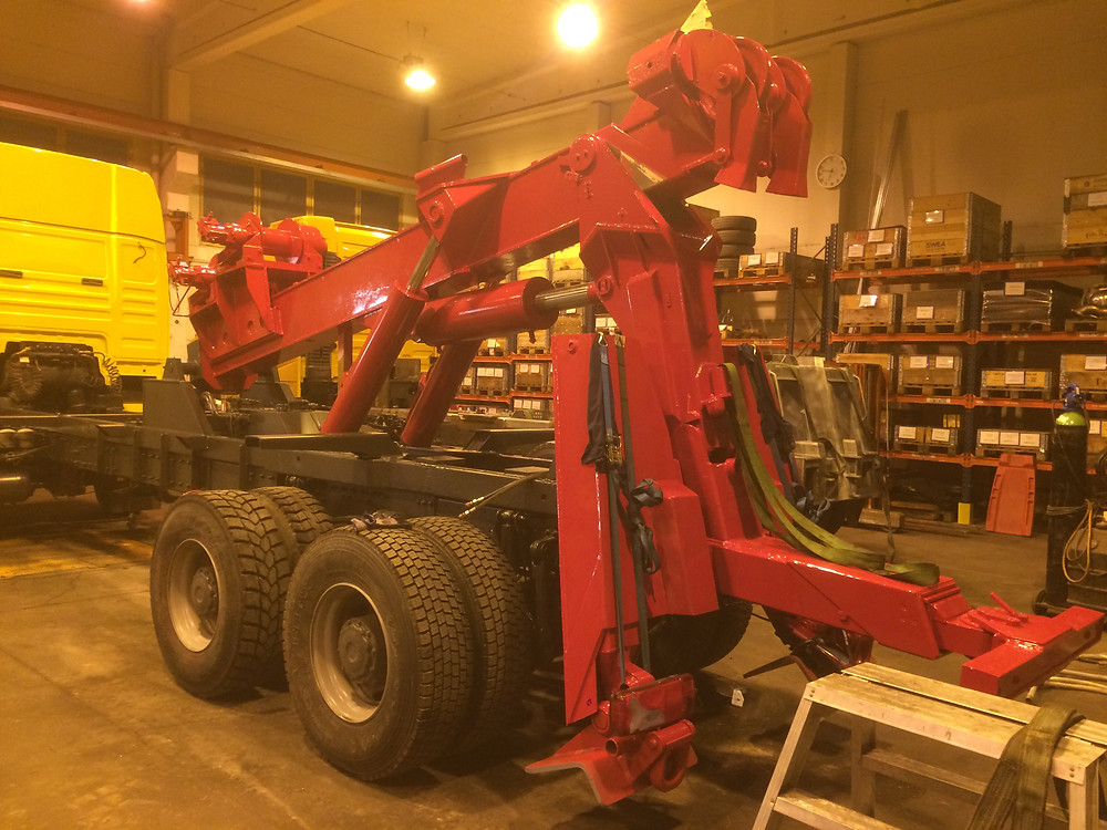 man bsm tow truck for sale