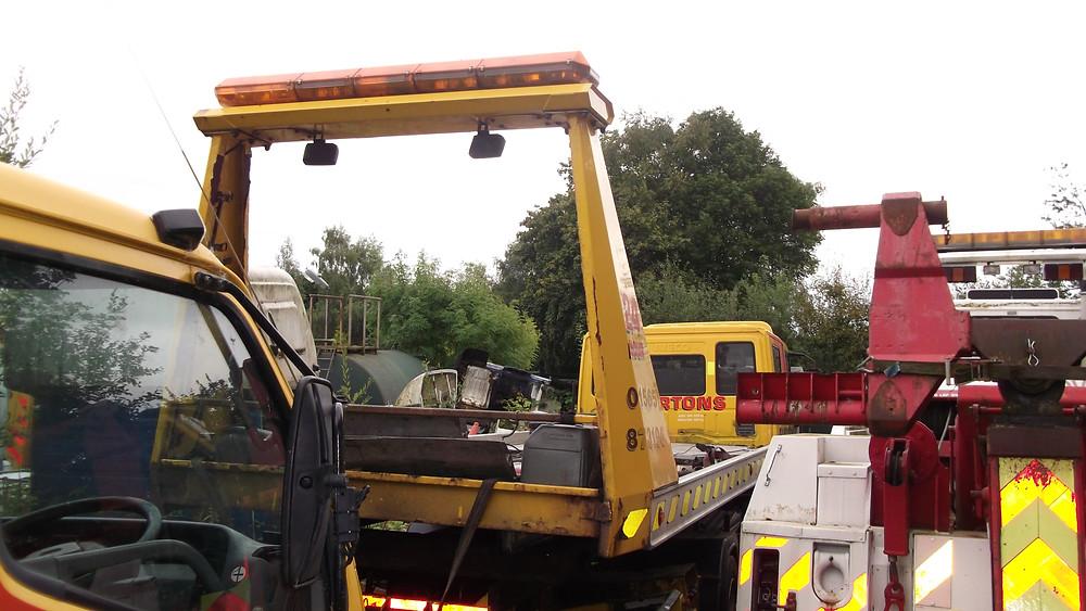 refurbish a recovery vehicle