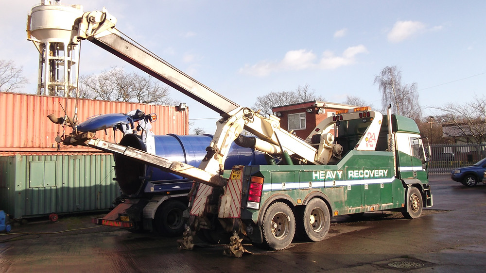 man tga recovery truck for sale