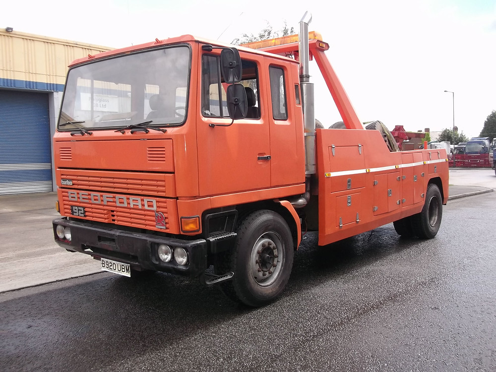 bedford tm recovery vehicle for sale