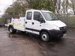 Iveco Crewcab with Dyson Enforcer