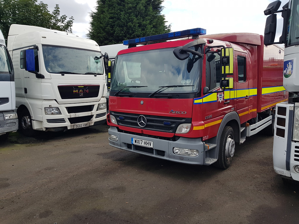 merc 1326 recovery vehicle for sale