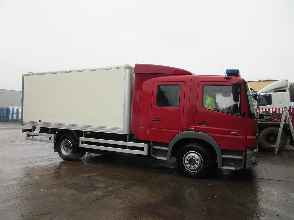 box body vehicle for sale