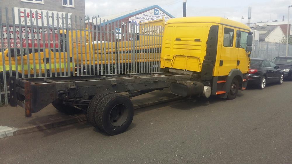 breakdown vehicle refurbishment