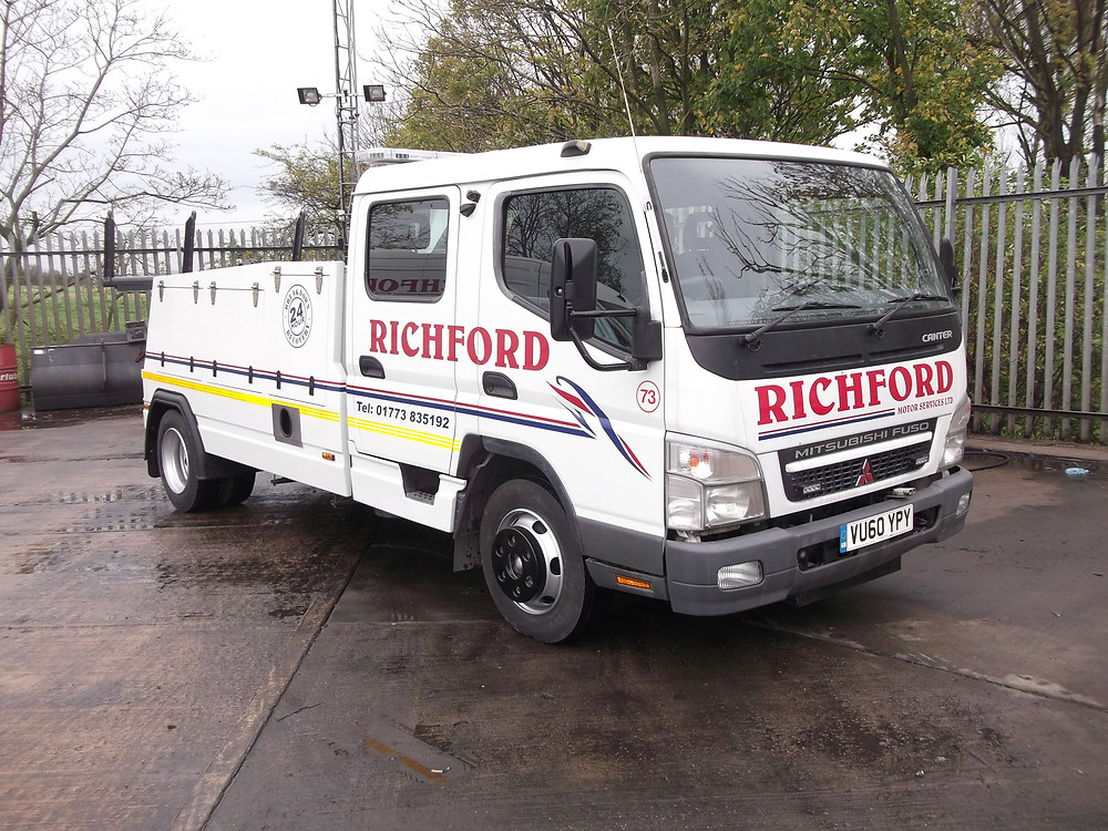 richford canter recovery vehicle for sale