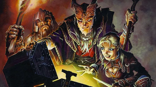 Ask a simple question about the Dungeons & Dragons timeline, get a complicated answer