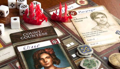 SeaFall, the spiritual successor to Pandemic: Legacy, is a handful