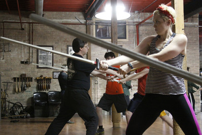 Knight Classes: Inside Chicago's only school for medieval longsword