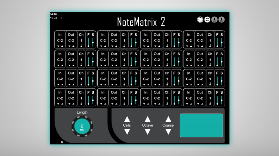NoteMatrix 2