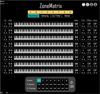 ZoneMatrix is out now!