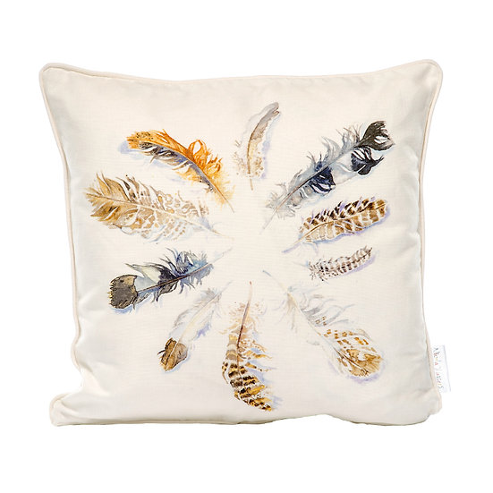 Flurry of Feathers Cushion