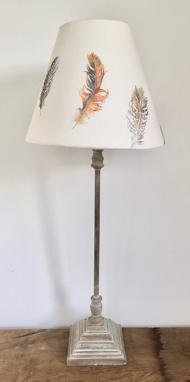 NEW Feathers Lamp - Cream