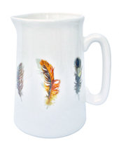 Feathers Jug Small
