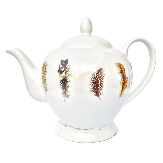 Feathers Teapot
