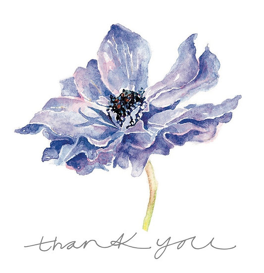 Anemone Greetings Cards