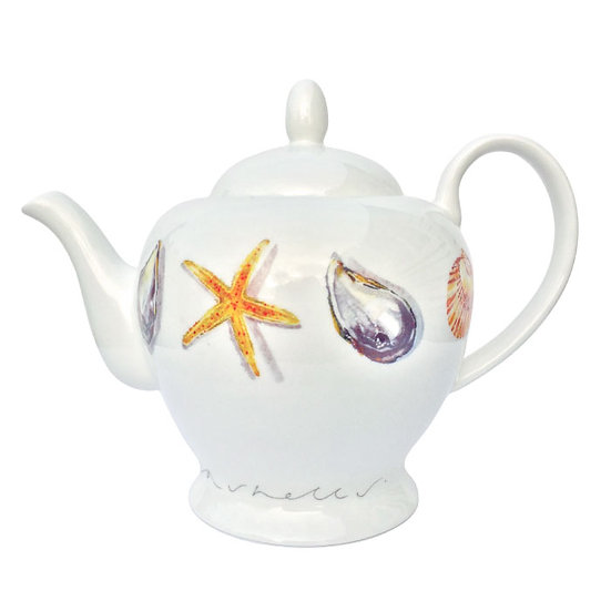 She Sells Seashells Teapot