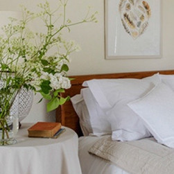 Lovely feathers above bed.jpg