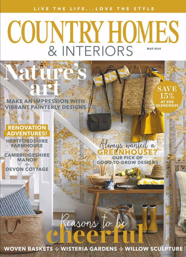 Country Homes & Interiors Magazine, May 2018