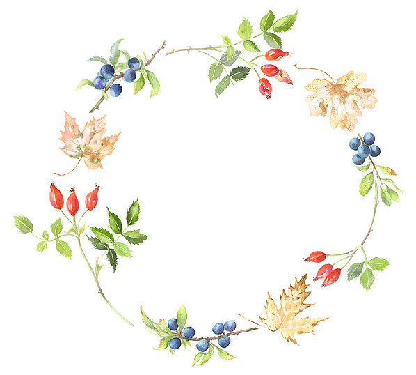 Autumn Wreath Painting Workshop