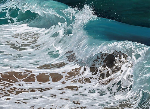 OCEAN DANCE: Ref C10 - Pack of 5, or email for various oblong cards