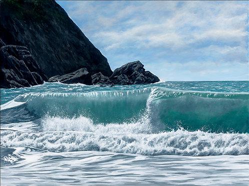 ROLLING SURF, Traeth Llyfn, Pembrokeshire - Ref LEP57