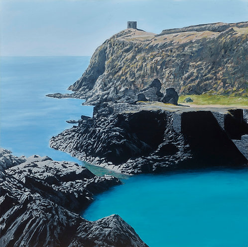 DOWN TO THE BLUE LAGOON, Abereiddy, Pembrokeshire - Ref LEP41