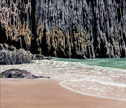 CLIFFS AT SKRINKLE HAVEN, Pembrokeshire - Ref LEP25