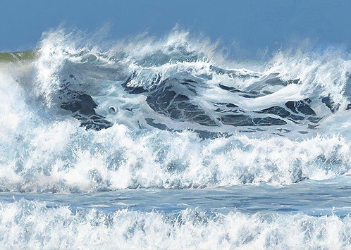 HEAVY SURF, Druidston: Ref C8 - Pack of 5, or email for various oblong cards