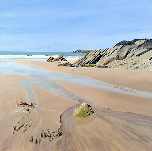 AFTERNOON SUN, Marloes Sands, Pembrokeshire - Ref LEP61