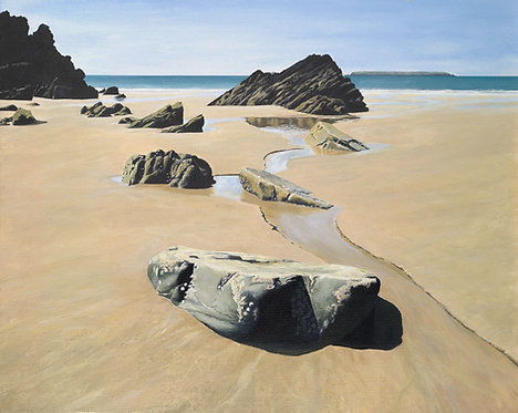 SUMMERS DAY, Marloes Sands, Pembrokeshire - Ref LEP46