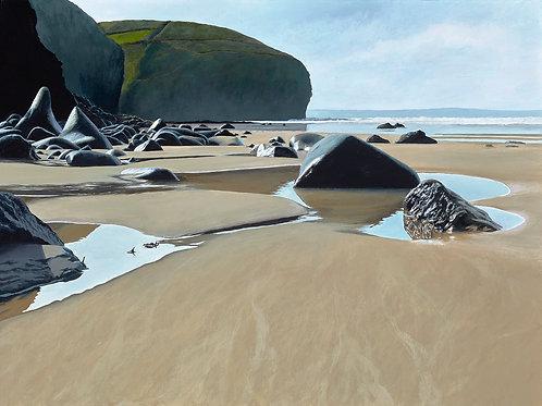SCULPTURED ROCKS, Druidston Haven, Pembrokeshire - Ref LEP22
