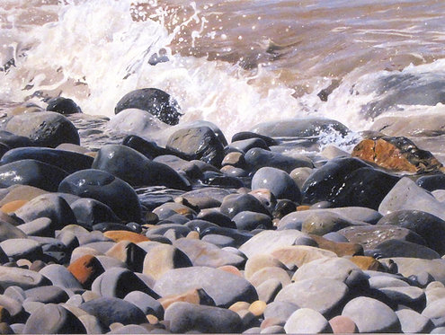 PEBBLES & ROCKS BY THE SHORE - Ref LEP76