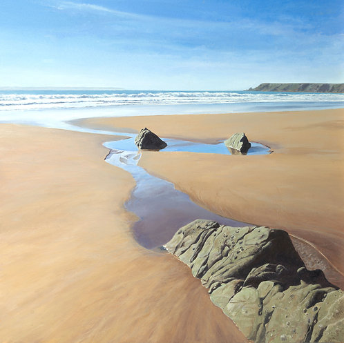 LOW TIDE, Marloes Sands, Pembrokeshire - Ref LEP77