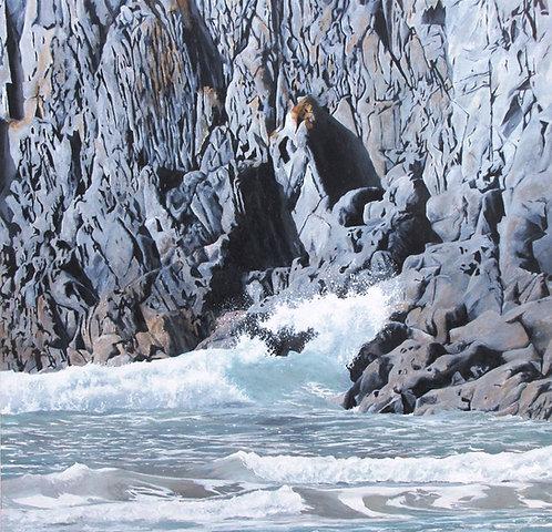 RUGGED ROCKS, Traeth Llyfn, Pembrokeshire - Ref LEP51