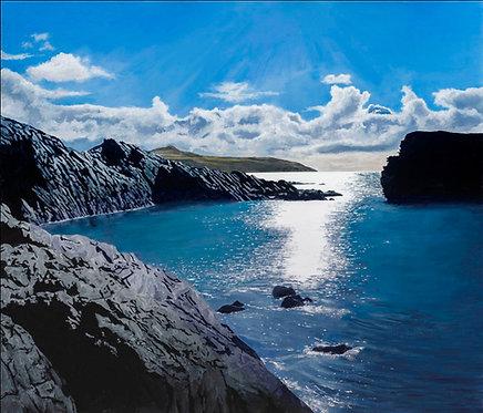 BLUE LAGOON SUNLIGHT, Abereiddy, Pembrokeshire - Ref LEP17