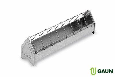 Galvanised metal pigeon feeder 500mm