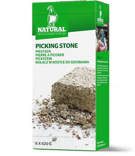 Natural picking stones