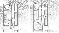 תוכניות קומה 1 ו 2