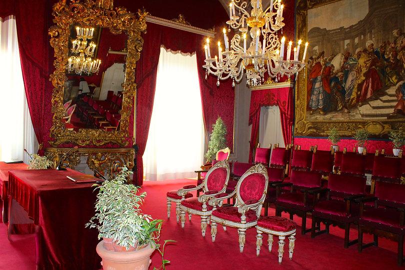 Sala Rossa, Palazzo Vecchio.
