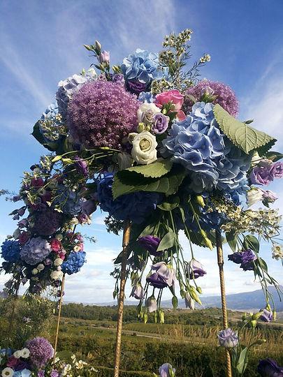 Castello Banfi Wedding Flowers
