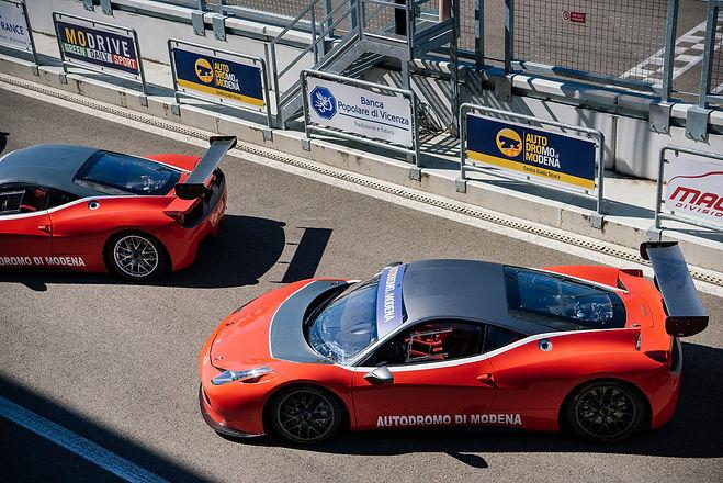 Ferrari Race in Modena