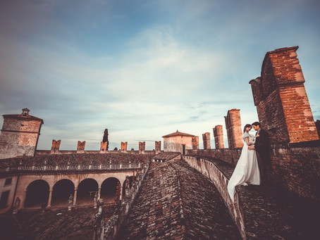 Destination Weddings in Italy: Castello Di Montegalda