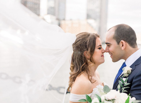 October Wedding at the Boston Exchange Conference Center