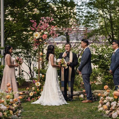 Flowerful May Wedding at Mandarin Oriental Hotel Boston