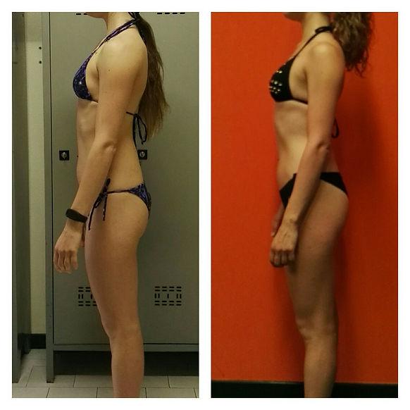 risultati allenamento prima dopo femminile