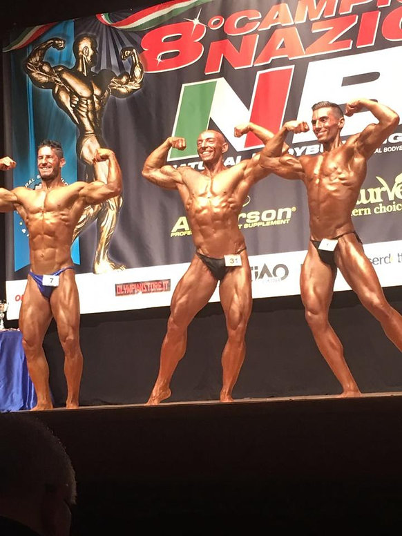Matteo Mazzotti natural body building