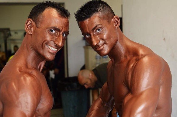 atleti di natural bodybuilding