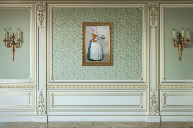 Das Schokoladenmä Dchen By the painting of Jean-Étienne Liotard